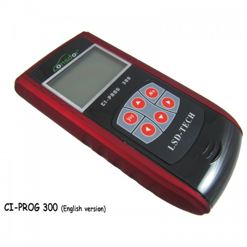 CI-PROG 300 Remote and Car Chip Adapter (English version) Fast Shipping