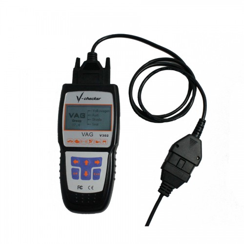 Denmark Version V-CHECKER VCHECKER V302 VAG Professional CANBUS Code Reader