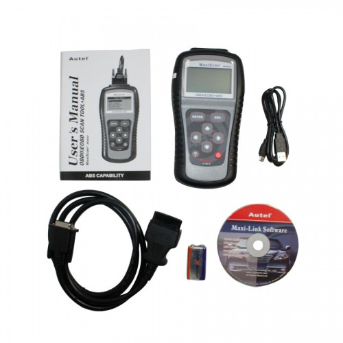 Original MaxiScan® MS609 OBDII/EOBD Scan Tool with ABS Capability
