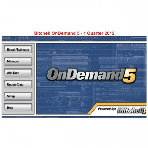 Mitchell OnDemand 5 Q1.2012 with 320G Software