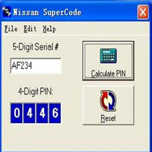 SuperCode Software for Nissan Send by Email
