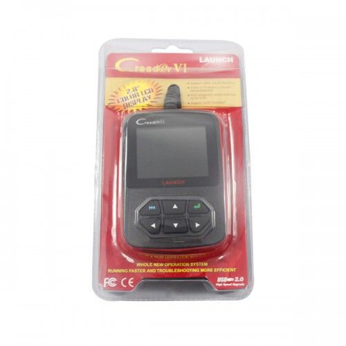 Hot Sale Launch Creader VI OBD2 OBDII EOBD Code Reader Update Online