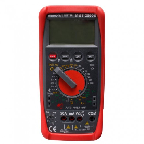 Intelligent Automotive Digital Multimeter MST-2800B