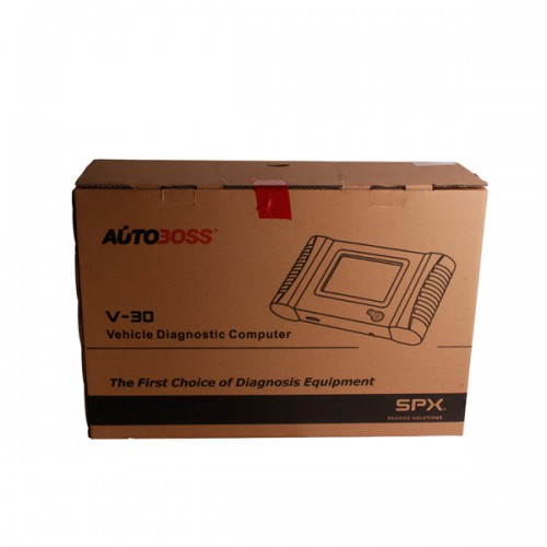 Autoboss V30 European English Version update by internet