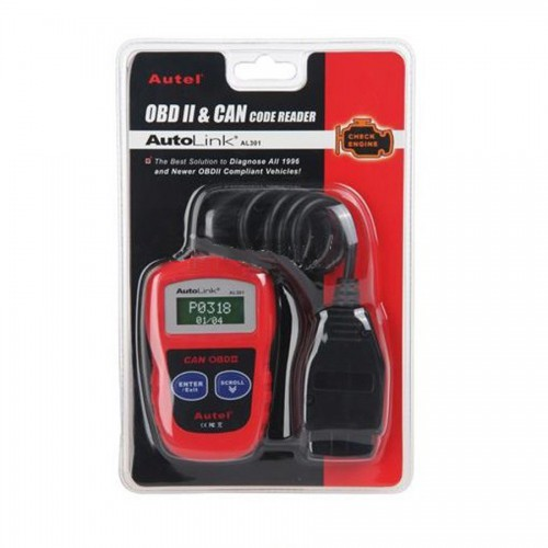 Autel AutoLink AL301 OBDII/CAN Code Reader (USA Local Shipping)