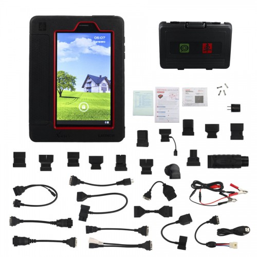 Original Launch X431 V(X431 Pro) Wifi/Bluetooth Tablet Full System Diagnostic Tool Multi-languages Support Online One-Click Update Free Shipping