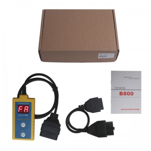 Airbag Scan/Reset Tool For BMW B800 Free Shipping