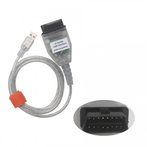 INPA/Ediabas K+CAN USB Interface OBD2 Scanner with FT232RQ Chip for BMW