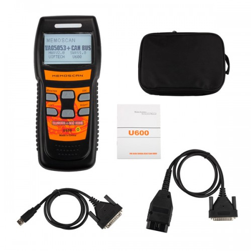 U600 OBD2 CAN Scanner Code Reader Live Data for VW/AUDI (Clearance Price)