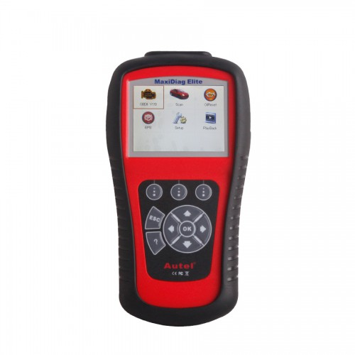 Original Autel Maxidiag Elite MD701Code Scanner With Data Stream Function Asia Vehicles for 4 System Update Free All Lifetime