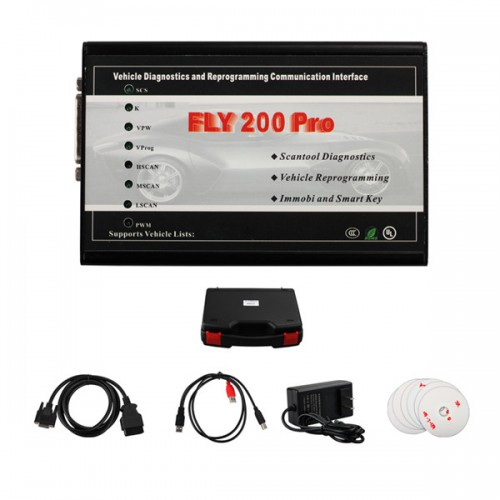 Super FLY Scanner for Ford and Mazda FLY200 PRO with multiple language