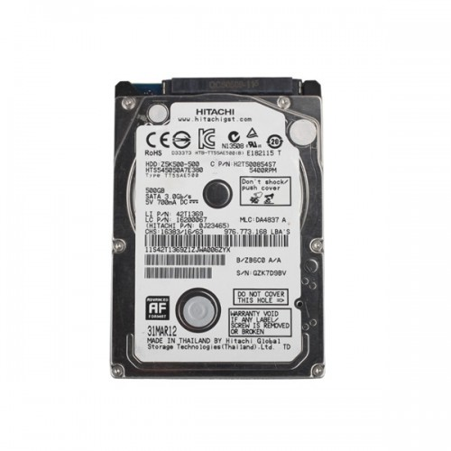 (European version) Newest V2.14 GDS VCI Software for Hyundai & KIA Stored in 500G SATA Format HDD