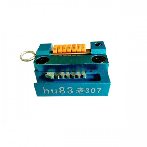 HU83 Manual Key Cutting Machine Support All Key Lost for Peugeot 307 Old Models