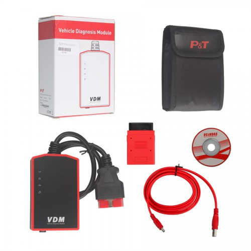 WIFI UCANDAS VDM V3.84 full system Automotive Diagnosis Support Win7 WIN8 With Honda Adapter (US Local Shipping)