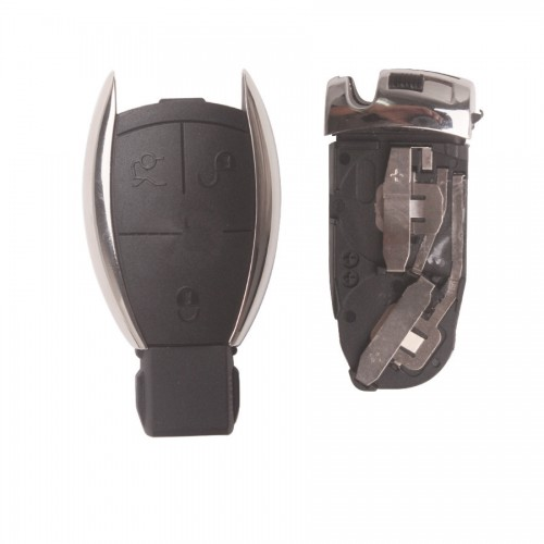 Smart Key Shell (With Board Plastic) For 2010 Benz 3 Button