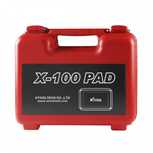 100% Original XTOOL X-100 X100 PAD Tablet Key Programmer with EEPROM Adapter Support Special Functions