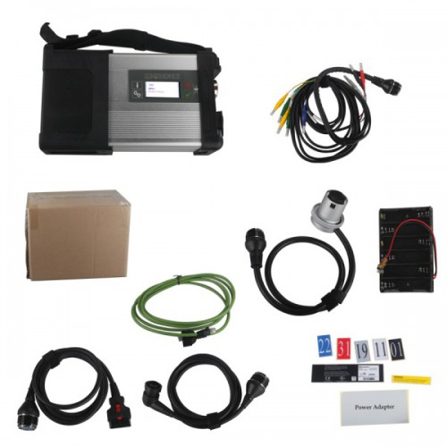 WIFI MB SD C5 SD Connect Compact 5 MB Star Diagnosis for MB Cars and Trucks Multi-Language without Software HDD