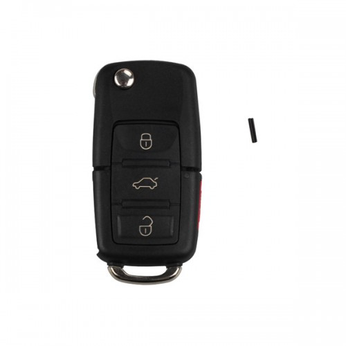KD900 URG 200 Remote Control 3Button Key (B01-3+1) for VW 5pcs/lot