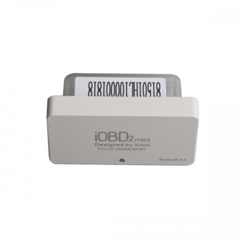 (US/UK Ship No Tax) XTOOL iOBD2 Mini OBD2 EOBD Scanner Support Bluetooth 4.0 for iOS and Android