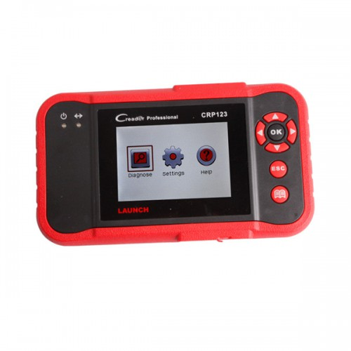 (US Ship No Tax) Launch CRP123 Launch CReader Professional 123 New Generation Of Core Diagnostic Product