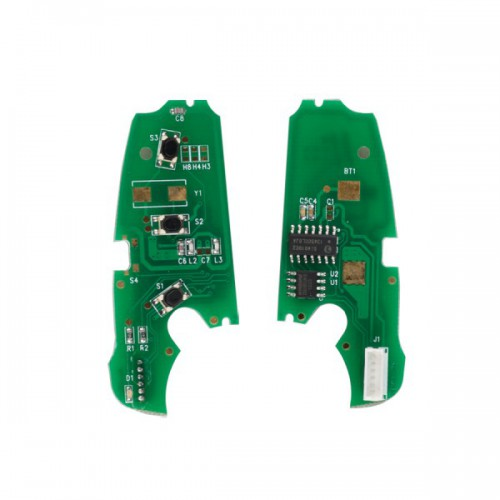 Audi A6L Q7 Intelligent Folding Remote Control Key For VVDI2 Mini Remote Programmer 5pcs/lot