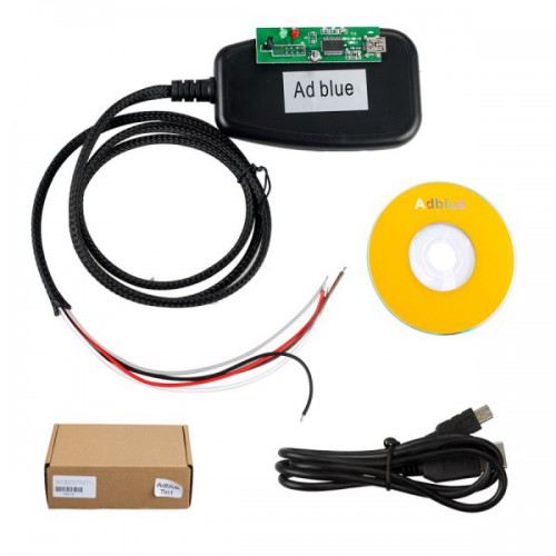 Adblueobd2 EMULATION MODULE Truck Adblueobd2 Remove Tool 7 IN 1 for Mercedes-Benz, MAN, Scania, Iveco, DAF, Volvo and Renault