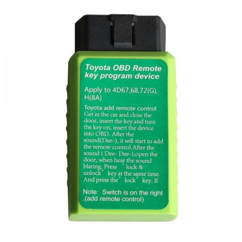 (Flash Sale) Toyo-ta G and Toyo-ta H Chip Vehicle OBD Remote Key Programming Device (US Ship No Tax)