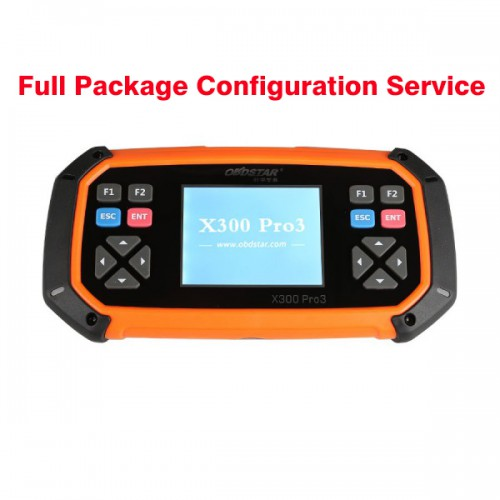 Service to Get OBDSTAR X300 PRO/X300 DP/ DP PLUS Key Master Full Package Configuration