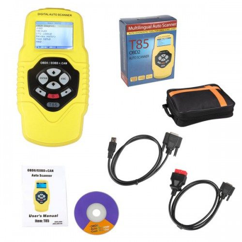 QUICKLYNKS T85 OBDII/EOBD/JOBD Auto Scanner for Audi/VW and Japanese Cars