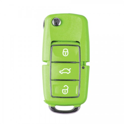 Pre-order 5pcs/lot XHORSE VVDI2 Volkswagen B5 Type Color Special Remote Key 3 Buttons (in Black, Red, Yellow, Blue and Green)