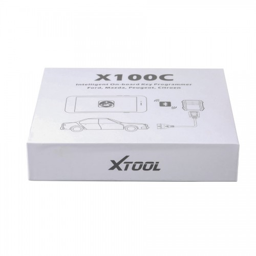 Xtool X-100 C X100 for iOS and Android Auto Key Programmer & pin code reader for Ford Mazda Peugeot and Citroen 2 Years Free Update