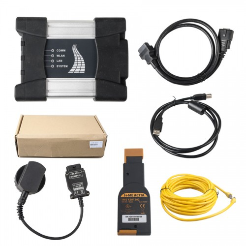 BMW ICOM NEXT A+B+C NEW GENERATION OF ICOM A2 Firmware V1.40 without Software with optical fiber and BMW 20 PIN cable