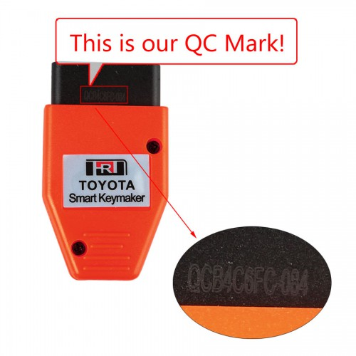 (US/UK Ship No Tax) Smart Keymaker for Toyota OBD 4C 4D chip Free Shipping