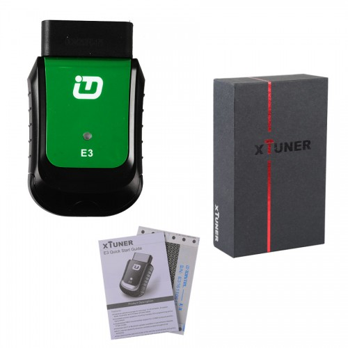 XTUNER E3 OBD2 Scanner Wireless OBDII Diagnostic Tool Pefectly Replaces VPECKER Easydiag V9.2 Supports WIN10