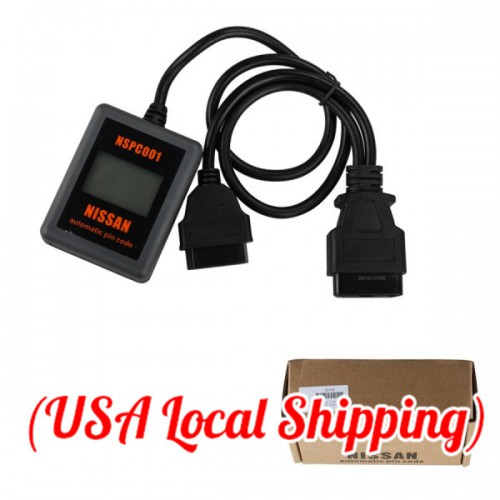(Free Shipping) Hand-held NSPC001 Automatic Pin Code Reader Read BCM Code For Nissan Supports New 20 Digit (US Ship No Tax)