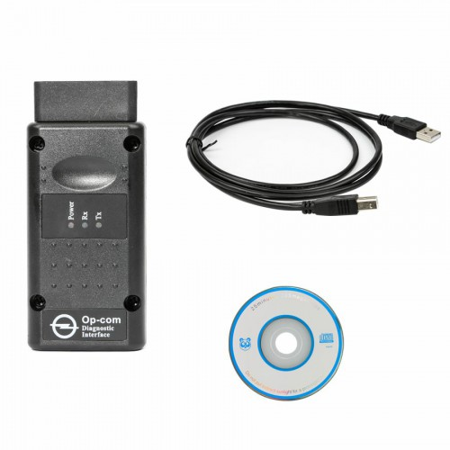 Opcom OP-Com Firmware V1.7 2010 /2014V Can OBD2 for OPEL with Single Layer PCB