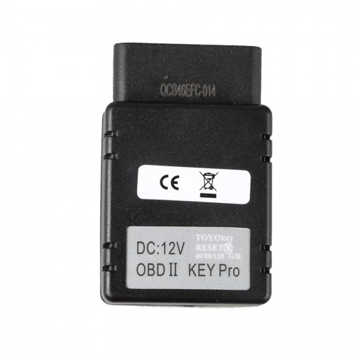 TOYO KEY OBD II KEY PRO Support Toyota G and H Chip with All Key Lost Work with MINI CN900 & MINI ND900
