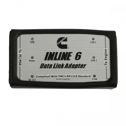 INLINE 6 Data Link Adapter for Cummins Support Multi Languages