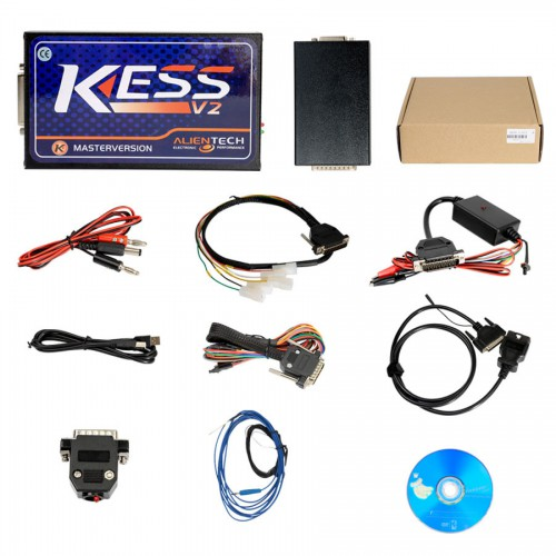 (UK Ship No Tax) Newest Kess V2 V5.017 Online Version Support 140 Protocol No Token Limited with DHL Free Shipping