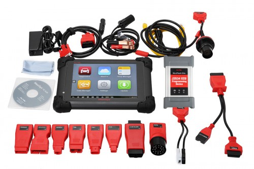100% Original Autel MS908P MaxiSys MS908 Pro MS908S with MaxiFlash Elite J2534 ECU with WiFi Online Programming Coding and Diagnosis