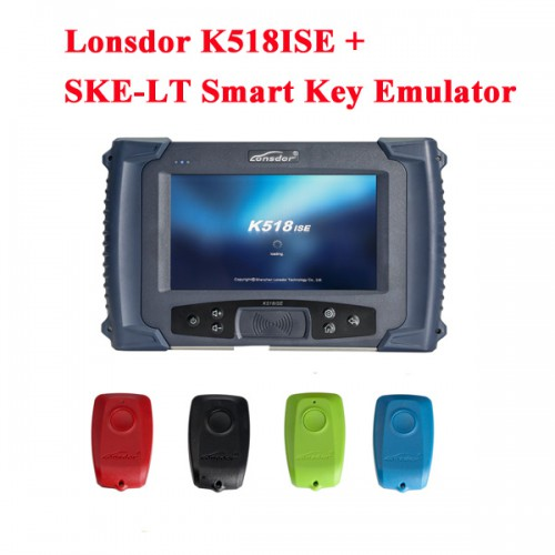 Lonsdor K518ISE Key Programmer Plus SKE-LT Smart Key Emulator for Toyota/Lexus smart key for all key lost