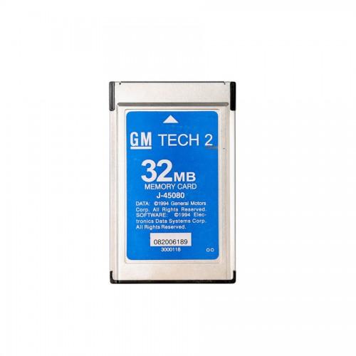 GM Tech 2 32MB Card For (GM,OPEL,SAAB,ISUZU,Holden,SUZUKI) Pcmcia Memory  Card GM Tech2 Accessory