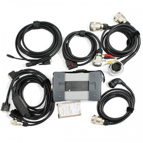 V2016.7 Mb Star C3 Pro with seven cable Fit all computer For MB Truck and Cars