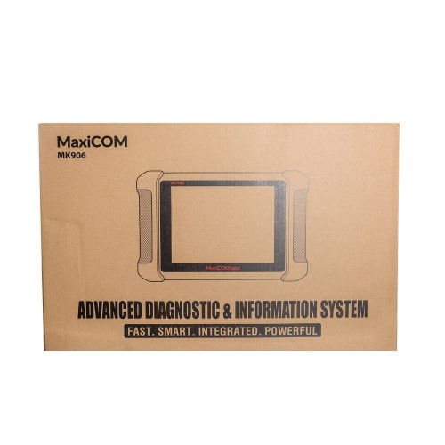 Original AUTEL MaxiCom MK906 Online Diagnostic and coding Tool Free Update Online