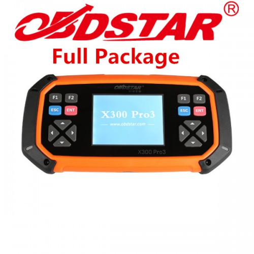 (US Ship No Tax) OBDSTAR X300 PRO3 Key Master Full Package Configuration Support Toyota G & H Chip All Keys Lost Free Shipping by DHL