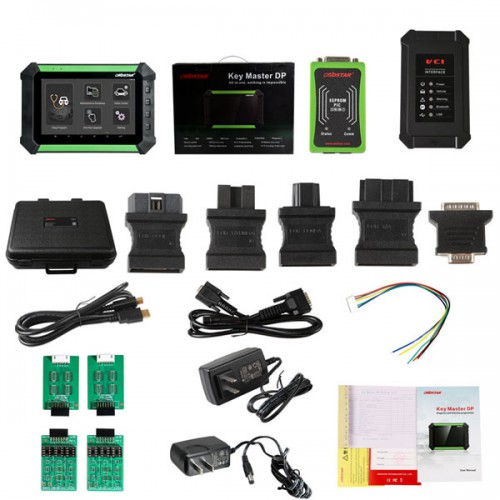 OBDSTAR X300 DP PAD Tablet Key Programmer Standard Configuration Support Toyota G & H Chip All Key and BMW FEM/BDC Key Programming