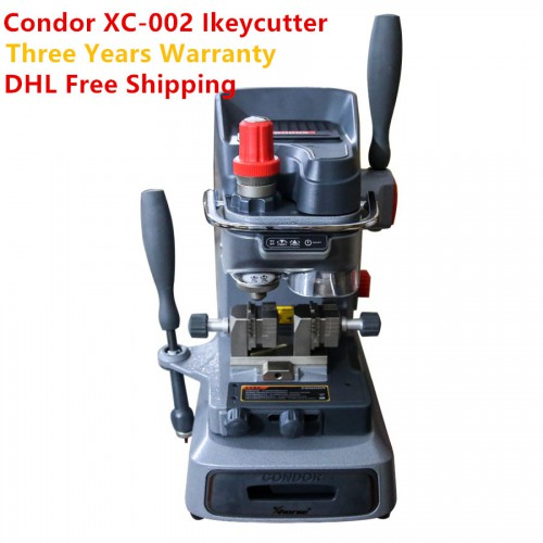 Xhorse Condor XC-002 XC002 Manually Key Cutting Machine Three Years Warranty with DHL Free Shipping