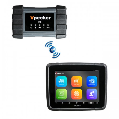 XTUNER T2 Vpecker T2 Diagnostic Tool for Heavy-duty Truck and Commercial Vehicles