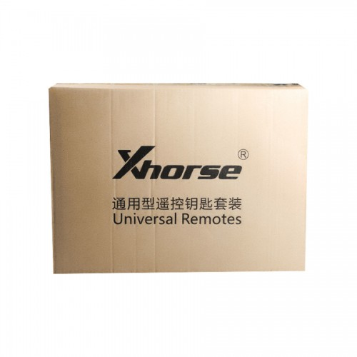 XKRSB1EN Xhorse Universal Remote Keys Full Packages 39 Pieces for VVDI2 or VVDI Key Tool Free Shipping by DHL