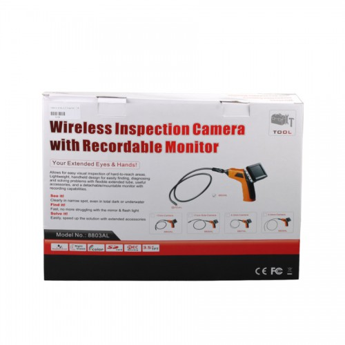 Best Wireless Inspection Camera with 3.5 inch Monitor Digital Inspection Videoscope